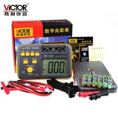 胜利 绝缘电阻测试仪 数字兆欧表VC60B+ 250V/500V1000V绝缘摇表