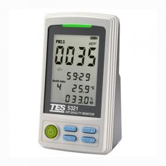 TES 台湾泰仕 TES-5321 PM2.5空气质量监测计