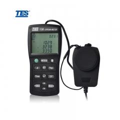TES 台湾泰仕 TES-136 色温色度计