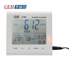 CEM华盛昌二氧化碳检测仪温湿度检测室内空气质量检测仪DT-802