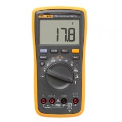 福禄克(FLUKE)F17B+ 数字万用表 可测温度 带电压报警功能