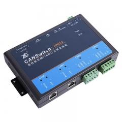致远周立功 CANSwitch-AN2S2 CANSwitch-AF2S2 高性能以太网转CAN模块