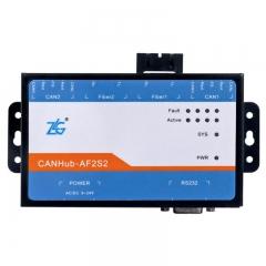 致远周立功 CANHub-AF2S2 CANHub-AF1S1 CAN光纤转换器集线器系列 CANH