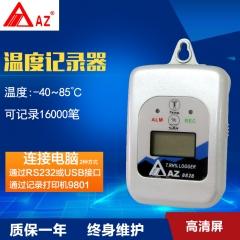 AZ8828 药店仓库大棚家用室内工业级壁挂式电子温度计温度记录器