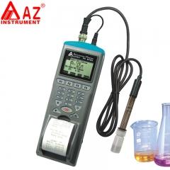 衡欣 AZ9861 ph计记录器印表机 电子ph计 ph测试计 酸碱计 带打印