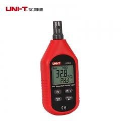 新品优利德迷你温湿度计UT333 数字温湿度表 工业级湿度计温度计