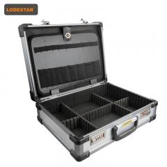 乐达(Lodestar) L804751 铝合金工具箱 金边密码锁工具箱 铝塑工具箱