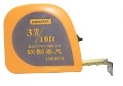 乐达(Lodestar) L609钢卷尺 工程仪尺 自动收缩卷尺 测量米尺 3m L609319