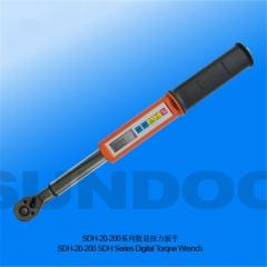 SUNDOO山度SDH-20-50-100-200系列数显扭力扳手 SDH-200