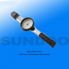 山度SDB表盘式扭力扳手1.5N/3N/6N/100NM指针式扭矩扳手指针式力矩扳手 SDB-1.5