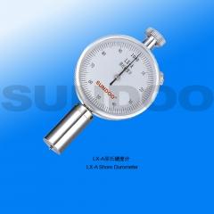 山度邵氏橡胶硬度计LX-A/LX-C/LX-D硬度计单针双针机台硫化橡胶塑料海绵 LX-A单针