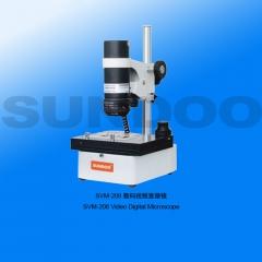 山度SVM数码显微镜SVM-208/210/211/212视频金相生物体视显微镜电子显微镜 视频数码