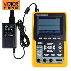 胜利 手持式示波表VC210 VC220 彩色示波器20MHZ带宽 单通道带电脑接口 VC220