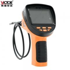 胜利VC502 10mm 3.5寸工业内窥镜 手电筒内窥镜管道摄像 画面可旋
