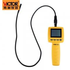 胜利仪器 VC501 10mm 2.4寸工业内窥镜 手电筒内窥镜管道摄像 画面可旋