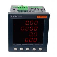 青岛青智ZW3414D单相0.5级综合电量表