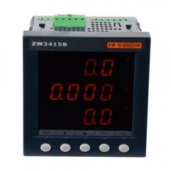 青智ZW3415B单相综合电量表 可测电压,电流,功率