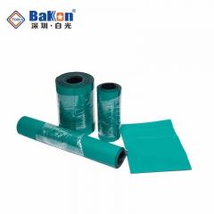防静电台垫橡胶垫 绿色耐高温工作维修皮实验室桌垫抗静电橡胶板