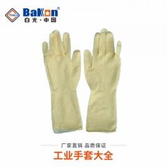 条纹防护手套一次性胶手套工业加厚防油耐酸碱防静电手套劳保手套