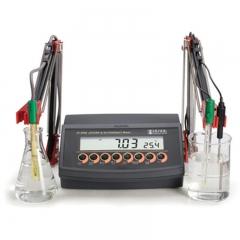 HANNA哈纳沃德 HI2550 微电脑pH-EC-TDS-盐度-°C多参数水质测定仪