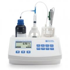 HANNA哈纳沃德 HI84532 微电脑可滴定酸滴定•酸度测定仪(适用果汁饮料行业)