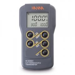 HANNA哈纳沃德 HI93551 多用途双量程微电脑宽范围(1371 °C)温度测定仪