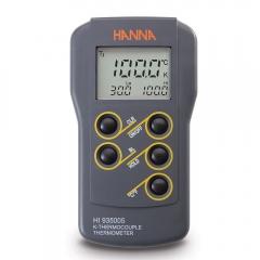 HANNA哈纳沃德 HI935005N 微电脑双量程温度(1350 °C)测定仪