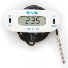 HANNA哈纳沃德 HI147-00 微电脑温度(-50.0 to 150.0°C)连续测定仪