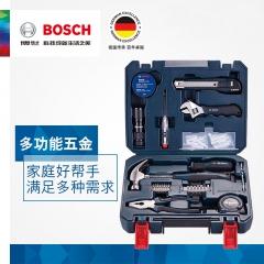 BOSCH博世 家用五金工具箱木工维修多件组套66件套