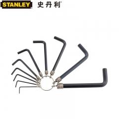 STANLEY史丹利 STMT69213-8-23系列 10件套公/英制链式内六角扳手 公制 STM