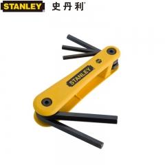 STANLEY史丹利 69-260-23C 5件套英制折叠式内六角扳手
