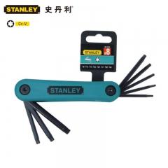 STANLEY史丹利 69-263-22C 8件套折叠式花形扳手