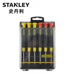 STANLEY史丹利 66-392-23系列 6件套一字、十字微型螺丝批组套 型号C 66-394-