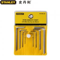 STANLEY史丹利 STMT94553-8-23 8件套公制迷你内六角扳手