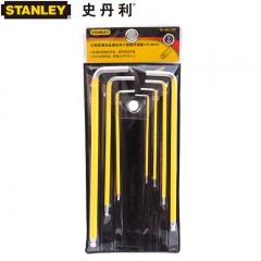 STANLEY史丹利 94-562-23C系列 7件套公制防滑长内六角扳手组套 1.5-6mm 94