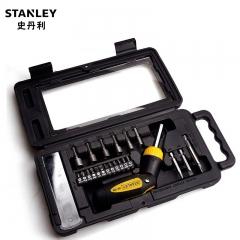 STANLEY史丹利 ST-03120-C 23件棘轮螺丝批紧固套装