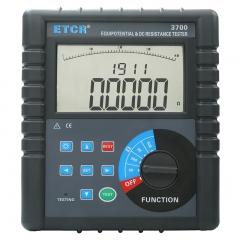 ETCR铱泰ETCR3700智能型等电位测试仪 直流低电阻测试仪 微电阻计